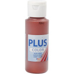 Plus Color hobbymaling, mørk kobber, 60 ml