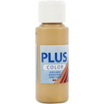 Plus Color hobbymaling, guld, 60 ml