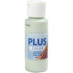 Plus Color hobbymaling, sart lysegrøn, 60 ml