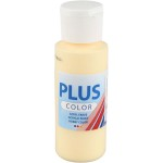 Plus Color hobbymaling, lysegul, 60 ml
