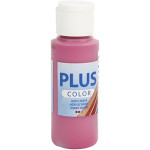 Plus Color hobbymaling, mørk fuchsia, 60 ml