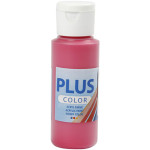Plus Color hobbymaling, primær rød, 60 ml