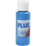 Plus Color hobbymaling, primær blå, 60 ml