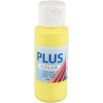 Plus Color hobbymaling, primær gul, 60 ml