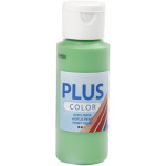 Plus Color hobbymaling, klar grøn, 60 ml