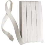 Elastikbånd, 20 mm, hvid, 25 m