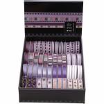 Dekorationsbånd - sortiment, 10 mm, lilla harmoni, 48x2 m