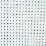 Aida stof, 150 cm, hvid, 3 m