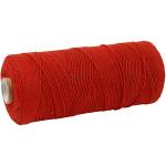 Knyttegarn, 320 m, rød, Tynd kvalitet 12/12, 250 g