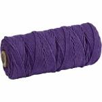 Knyttegarn, 320 m, violet, Tynd kvalitet 12/12, 250 g