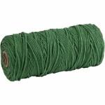 Knyttegarn, 320 m, grøn, Tynd kvalitet 12/12, 250 g