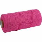Knyttegarn, 120 m, pink, Tyk kvalitet 12/36, 250 g