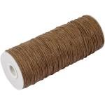 Paperyarn, 1,8 mm, brun, tynd, 250 g