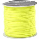 Knyttesnor, 1 mm, neon gul, 28 m