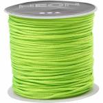 Knyttesnor, 1 mm, neon grøn, 28 m