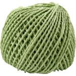Paperyarn, 2,5-3 mm, lys grøn, 150 g