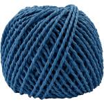 Paperyarn, 2,5-3 mm, mørk blå, 150 g