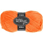 Fantasia Akrylgarn, 80 m, neon orange, 50 g
