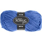 Fantasia Akrylgarn, 80 m, blå, 50 g