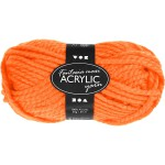 Fantasia Akrylgarn, 35 m, neon orange, Maxi, 50 g