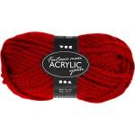 Fantasia Akrylgarn, 35 m, rød, Maxi, 1x50 g