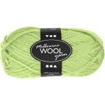 Melbourne uldgarn, 92 m, neon grøn, 50 g