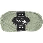 Melbourne uldgarn, 92 m, lys grøn, 50 g