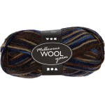Melbourne uldgarn, 92 m, blå/grå harmoni, 50 g