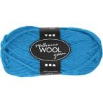 Melbourne uldgarn, 92 m, lys blå, 50 g