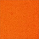 Hobbyfilt, 45 cm, orange, 1 m