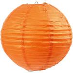 Papirlampe, 20 cm, orange, 1 stk.
