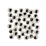 Rulleøjne, 12 mm, 1000 stk.