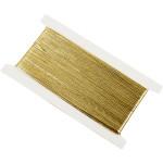 Bånd, B: 1,5 mm, guld, 100 m