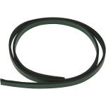 Imiteret læderbånd, 10 mm, grøn, 1 m