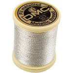 DMC tråd, 0,8 mm, sølv, 40 m