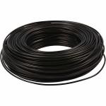 Alutråd, 2,5 mm, sort, 75 m