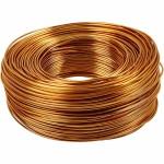 Alutråd, 1,5 mm, guld, 100 m