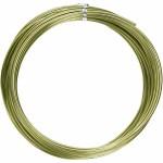 Alutråd, 2 mm, grøn, rund, 10 m