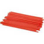 Konstruktionsrør, 800 stk. 12,5 cm, rød