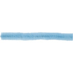 Chenille, 15 mm, blå, 15 stk.