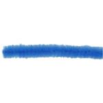 Chenille, 15 mm, mørk blå, 15 stk.