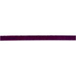 Satinbånd, 3 mm, mørk lilla, 15 m