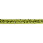 Satinbånd med print, 10 mm, lime grøn, 8 m