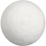 Kugle, 20 mm, hvid, vat, 300 stk.