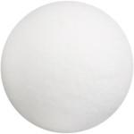 Kugle, 35 mm, hvid, vat, 100 stk.