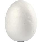 Æg, 3,7 cm, styropor, 10 stk.