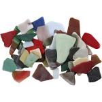 Mosaik, 15-60 mm, ass. farver, 2 kg