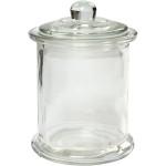 Krukke med låg, 10 stk. 330 ml, 8 cm.