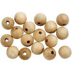 Træperle, 8 mm, 500 stk, kinesisk bærtræ