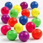 Neonmix, 10 mm, ass. farver, 500 g